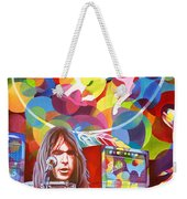 Neil Young-crazy Horse Weekender Tote Bag