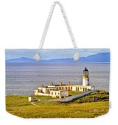 Neist Point Lighthouse Isle Of Skye Weekender Tote Bag