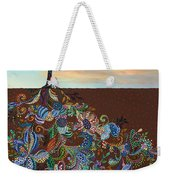 Neither Praise Nor Disgrace Weekender Tote Bag by James W Johnson