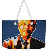 Nelson Mandela Lego Pop Art Weekender Tote Bag