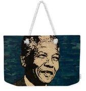 Nelson Mandela Man Of Peace Weekender Tote Bag