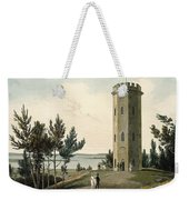 Nelsons Tower, Forres, From A Voyage Weekender Tote Bag