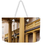Neo Classical Columns Weekender Tote Bag by Barbara McMahon