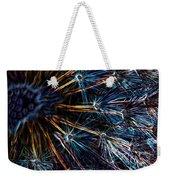 Neon Dandelion Weekender Tote Bag