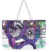 Neon Dragon In High Contrast Weekender Tote Bag