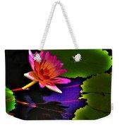 Neon Lily Weekender Tote Bag