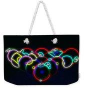 Neon Pool Balls Weekender Tote Bag