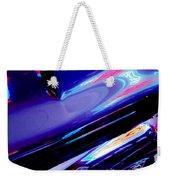 Neon Reflections - Ford V8 Pickup Truck -1044c Weekender Tote Bag