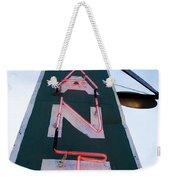 Neon Restaurant Sign Weekender Tote Bag