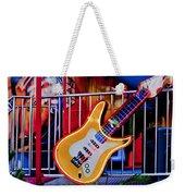 Neon Rock N Roll Weekender Tote Bag