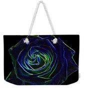 Neon Rose 5 Weekender Tote Bag