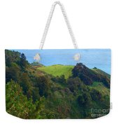 Nepenthe View At Big Sur In California Weekender Tote Bag