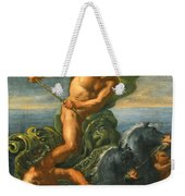 Neptune And His Chariot Of Horses Weekender Tote Bag