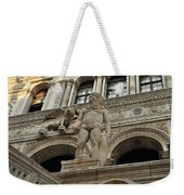 Neptune And The Lion Atop The Giants Staircase Weekender Tote Bag
