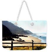 Neptune Beach Crow Weekender Tote Bag