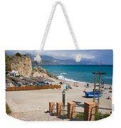 Nerja Beach In Spain Weekender Tote Bag