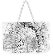 Nerve Cells, 1894 Weekender Tote Bag