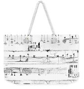 Nerve Structure Of The Retina Weekender Tote Bag
