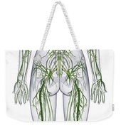 Nervous System, Illustration Weekender Tote Bag