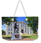 Ness County Courthouse In Kansas Weekender Tote Bag