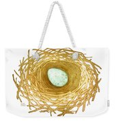 Nest And Egg Weekender Tote Bag