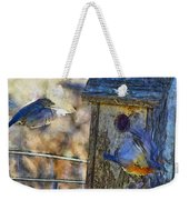 Nest Building Time Weekender Tote Bag
