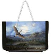 Nesting Egrets Weekender Tote Bag