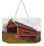 Netcher Road Covered Bridge Weekender Tote Bag