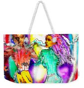 Neutron Dance Weekender Tote Bag