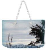 Nevada Blue Weekender Tote Bag