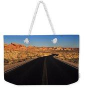 Nevada. Desert Road Weekender Tote Bag