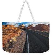 Nevada Highways Weekender Tote Bag
