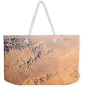 Nevada Mountains Aerial View Weekender Tote Bag
