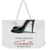 Never Look Back Weekender Tote Bag