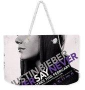 Never Say Never 2 Weekender Tote Bag