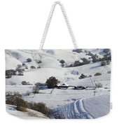 Never Snows In California Weekender Tote Bag
