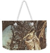 Never So Weary Never So Woeful Illustration To A Midsummer Night S Dream Weekender Tote Bag