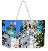 Nevsky Cathedral - Tallin Estonia Weekender Tote Bag