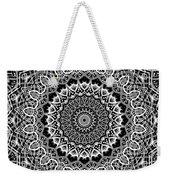 New Abstract Plaid Kaleidoscope Weekender Tote Bag