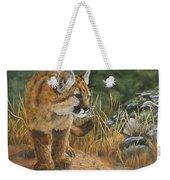 New Adventures - Cougar Cub Weekender Tote Bag