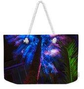 New Age Tropical Palm Weekender Tote Bag
