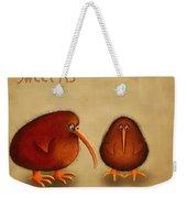 New Arrival. Kiwi Bird - Sweet As - Boy Weekender Tote Bag