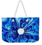 New Blue Glory Flower Art - Buy Prints Weekender Tote Bag