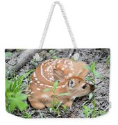 New Born Fawn Weekender Tote Bag