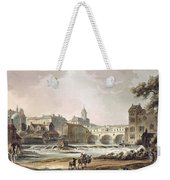 New Bridge, From Bath Illustrated Weekender Tote Bag