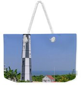 New Cape Henry Lighthouse Vertical Weekender Tote Bag
