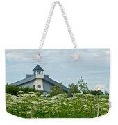 New Church In Ninilchik-ak  Weekender Tote Bag