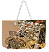New Commercial Construction Site 02 Weekender Tote Bag
