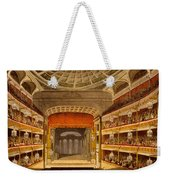 New Covent Garden Theatre Weekender Tote Bag