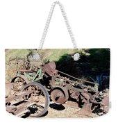 New Crop Antiquated Plow Weekender Tote Bag